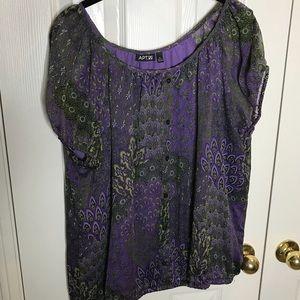 Apt 9 blouse size XL